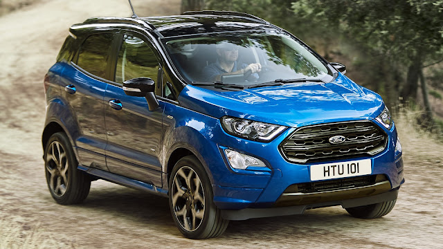 New 2017 Ford EcoSport suv cum Crossover