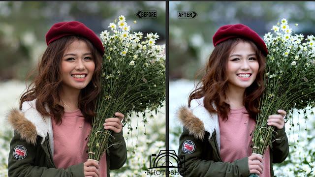 action photoshop chinh anh dep huong dan