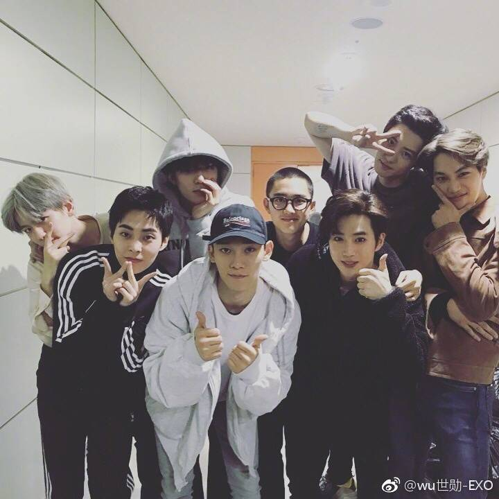 180101 Sehun Instagram And Weibo Update Exodicted Exo Fansite