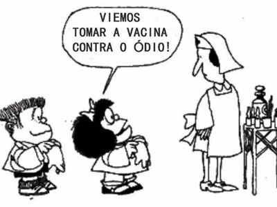 """E mais uma vez o mundo se curva perante a criatividade brasileira: agora inventamos a """"odiocracia""""!  A """"odiocracia"""" resume-se em odiar visceralmente quem pensa diferente, ou tenha uma ideologia contrária á nossa."""