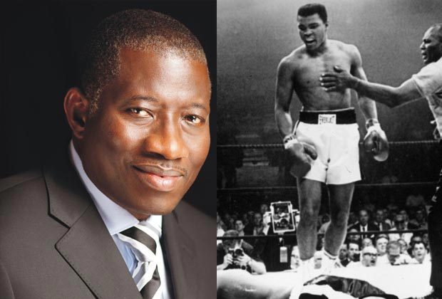 GEJ commiserates with Mohammed Ali's family over late boxer's demise