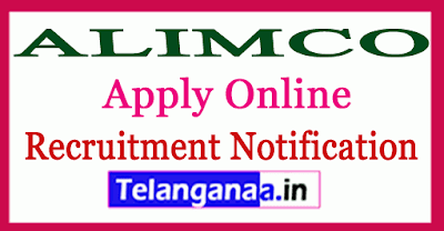 Artificial Limbs Manufacturing Corporation of India ALIMCO Recruitment Notification
