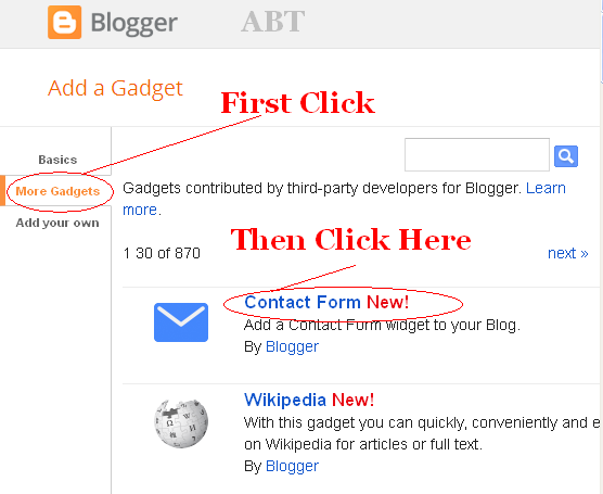 How To Add Contact Us Form In My Blogger Blog