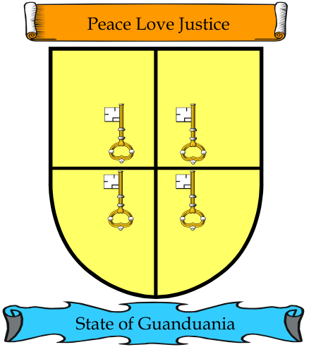 State of Guanduania Court of Arms