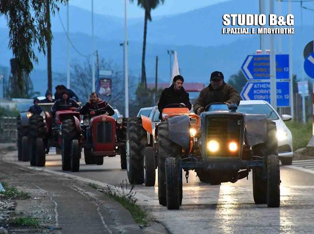 Παράσταση διαμαρτυρίας του Αγροτοκτηνοτροφικού  Συλλόγου στην Περιφερειακή Ενότητα Αργολίδας