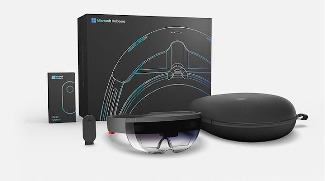 microsoft hololens gafas de realidad aumentada