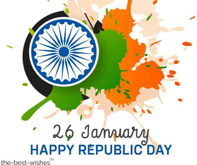best wishes for republic day of india