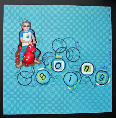 boing scrapbook page