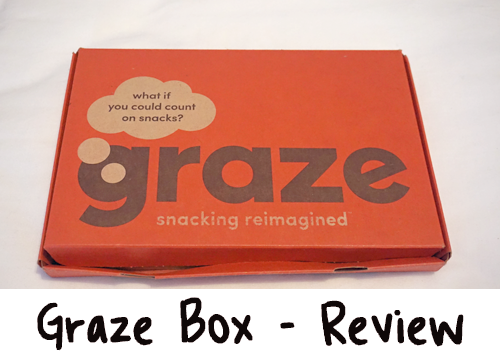 Review - Subscription Box - Graze Box #11