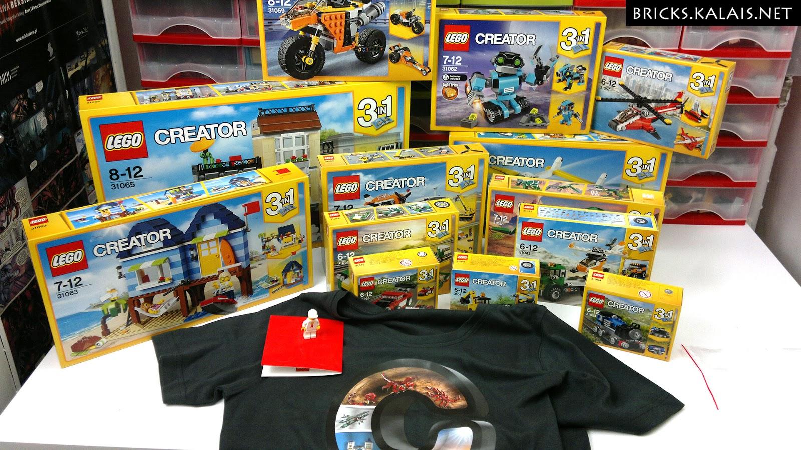 [FILM] Nagrody z konkursu LEGO Rebrick Build and Rebuild