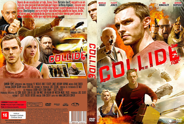 Capa DVD Collide 2016 [Exclusiva]