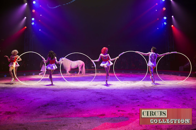 Spectacle chevaux Chanel Marie Knie