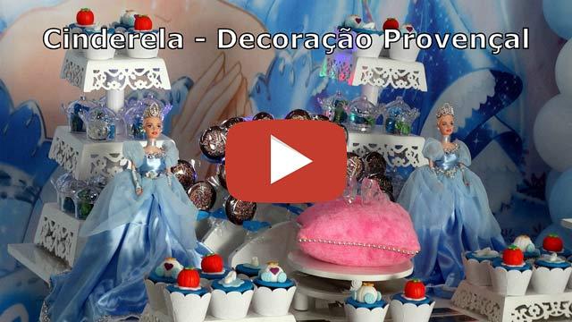 Decoração Cinderela provençal