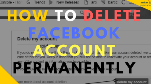 How to Delete Facebook Account Permanently 2017