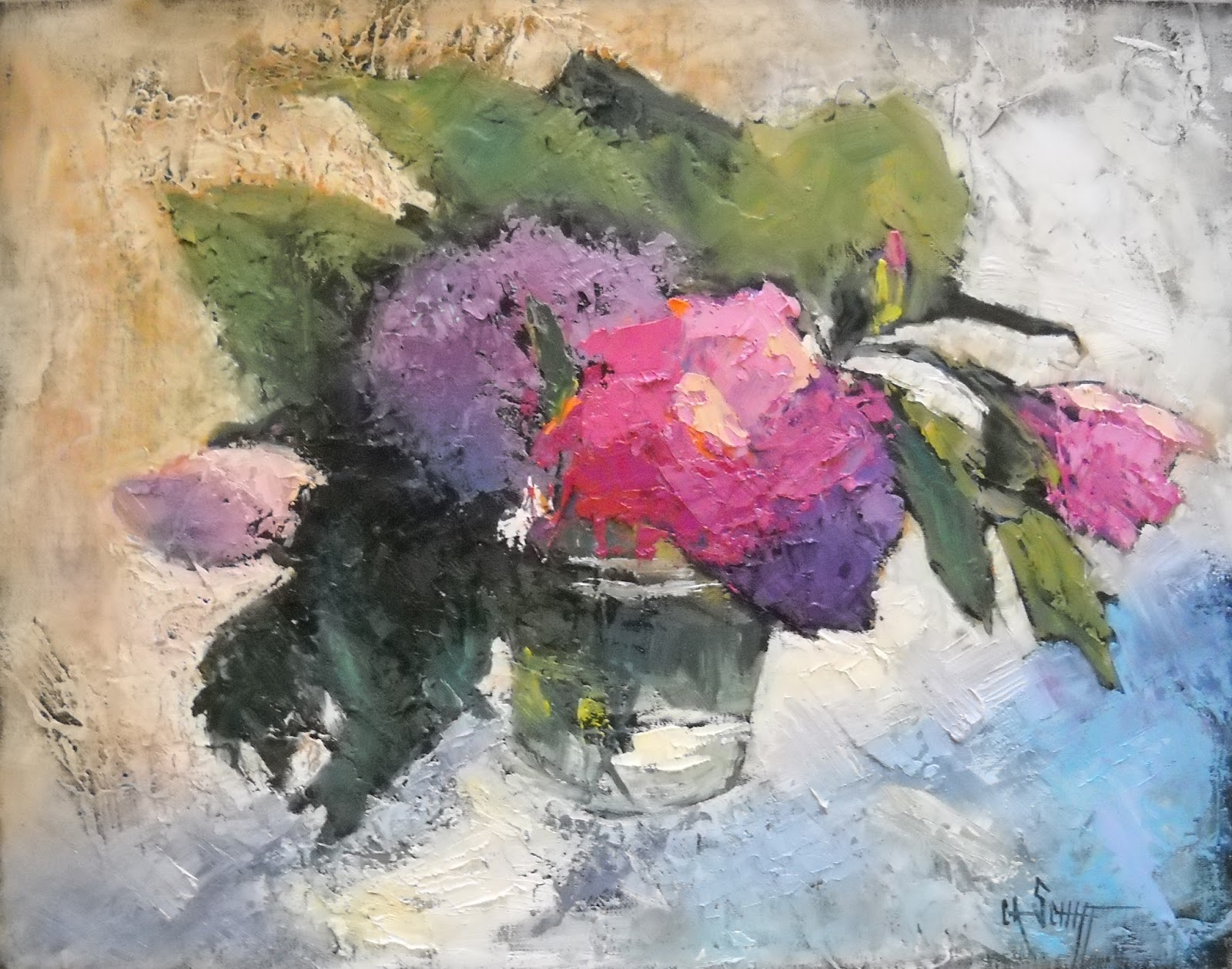 Still Life Artists International Floral Still Life Painting