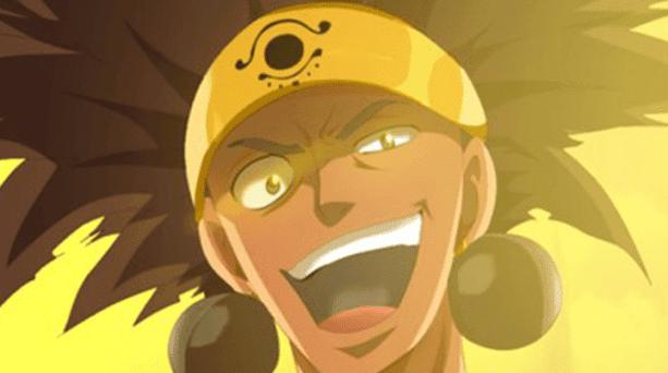 Ajeel Ramal - Anggota Spriggan 12 di Anime Fairy Tail