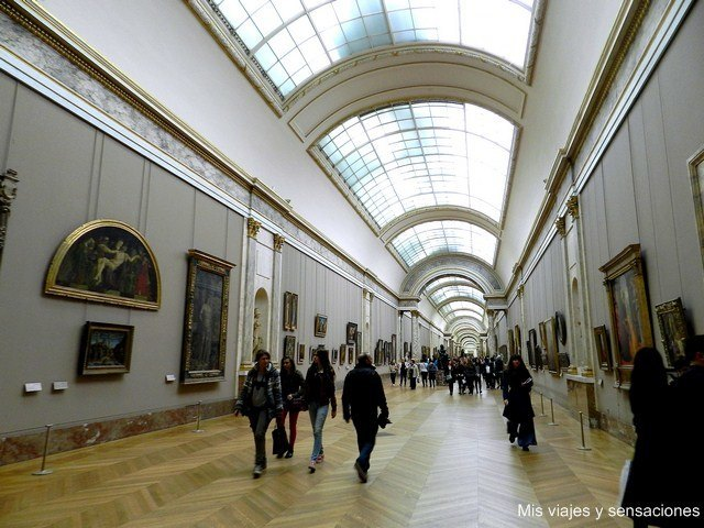 Cuadros, museo del Louvre, París, Francia