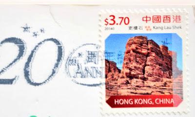 Hongkong znaczek