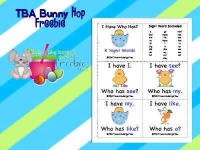 Teaching Blog Addict Bunny Hop