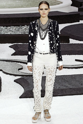 CHANEL S/S11: Karl Lagerfeld's inspiration