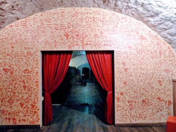 Шабо. Центр культуры вина. Подземный подвал для хранения и выдержки вин