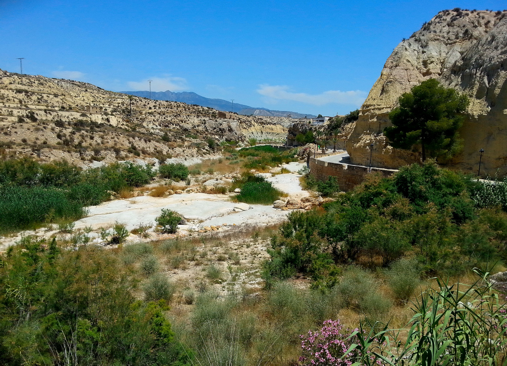 Mula embalse de la cierva fuente caputa y rambla de perea - Banos de mula el pozo ...