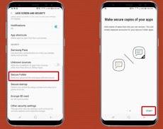 Cara Menggunakan Folder Aman di Samsung Galaxy S8 dan S8 Plus
