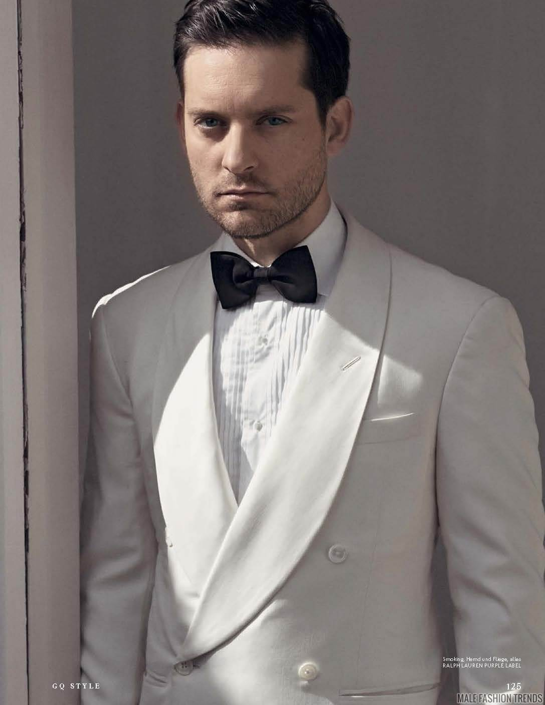 Tobey Maguire para GQ ...