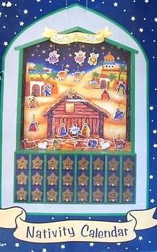 Our 3 Little Arrows Christmas Advent Calendar And Nativity Reviews