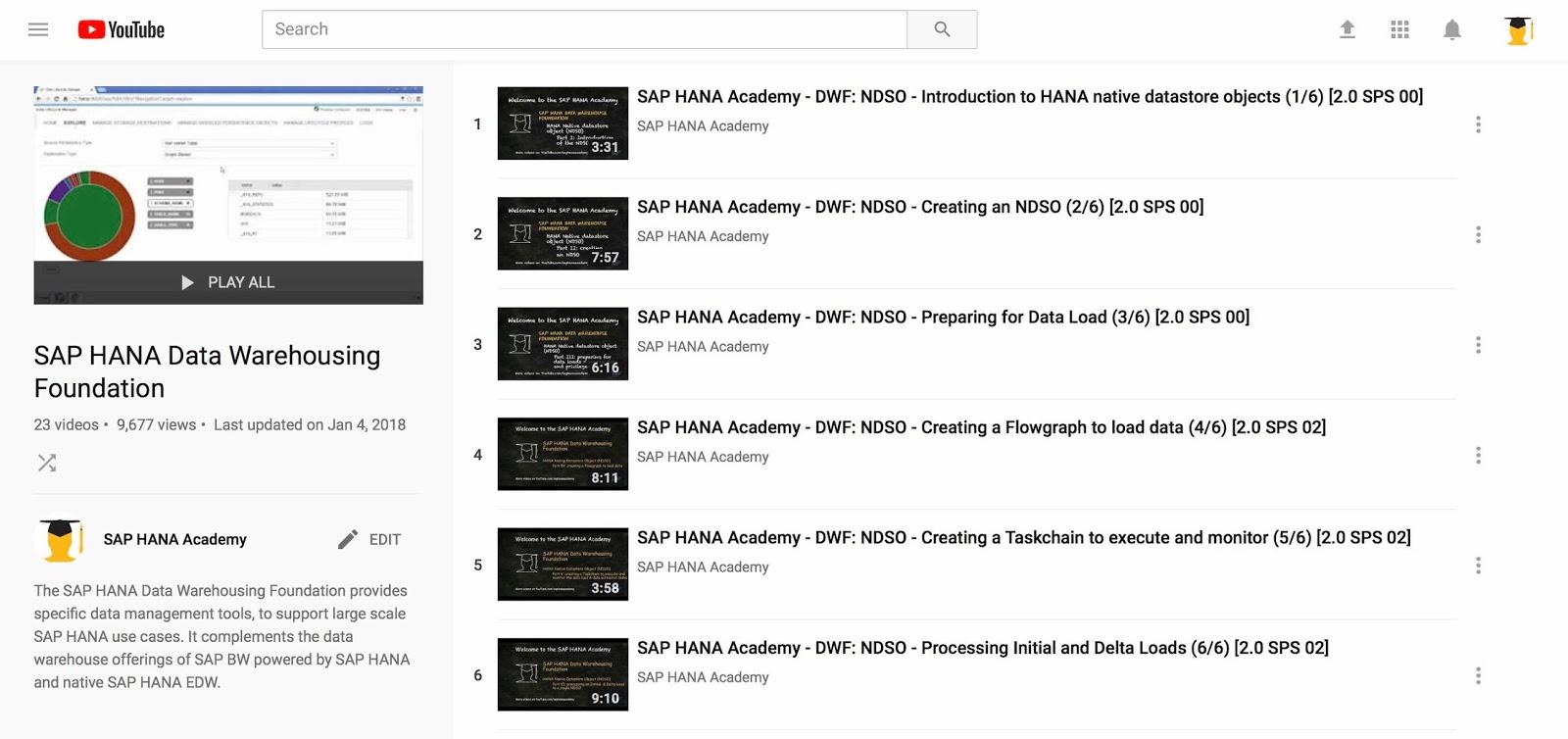 SAP HANA 2 0 editions (2018) – by the SAP HANA Academy