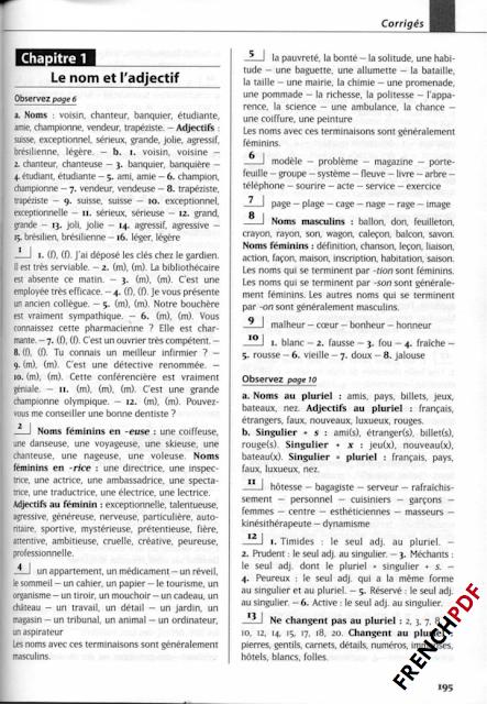 Les 500 exercices de grammaire A2 livre pdf + corrigés intégrés pdf gratuitement
