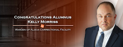 Photo SHSU Alumnus Kelly Morris