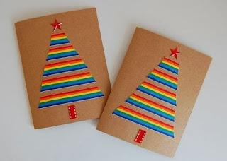 Ideas de tarjetas navide as caseras lodijoella - Ideas para una postal de navidad ...