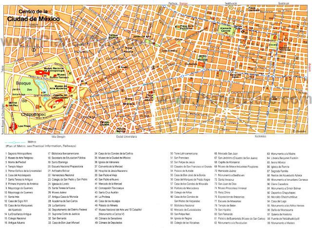 México city map