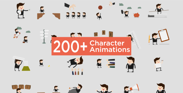 VIDEOHIVE CHARACTER ANIMATION PACK - FREE FOR YOU