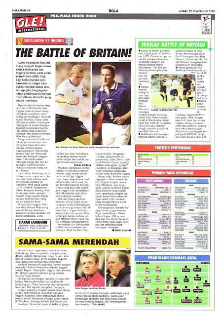 SCOTLAND VS ENGLAND THE BATTLE OF BRITAIN