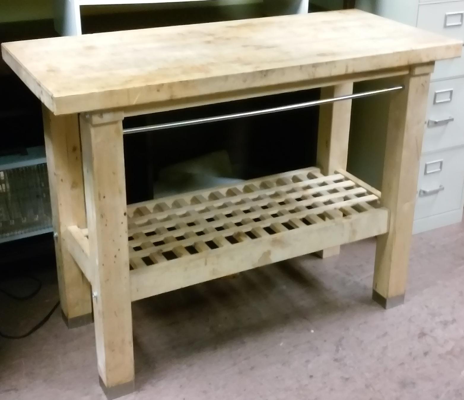 uhuru furniture amp collectibles sold 3 x 4 birch kitchen