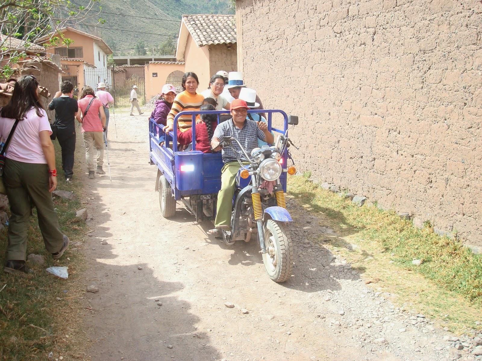 En el pueblo de Maras