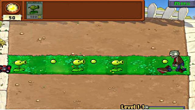 Plants vs Zombies Web - Image du Jeu