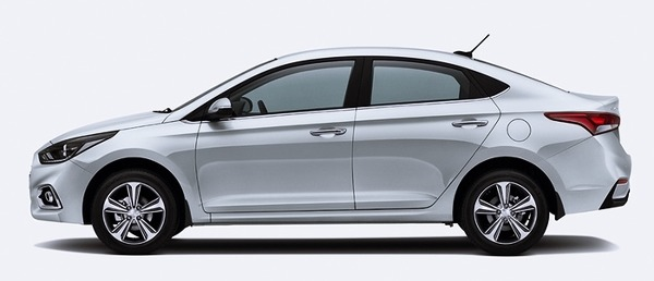 New Hyundai Verna 2017 side look HD Wallpaper