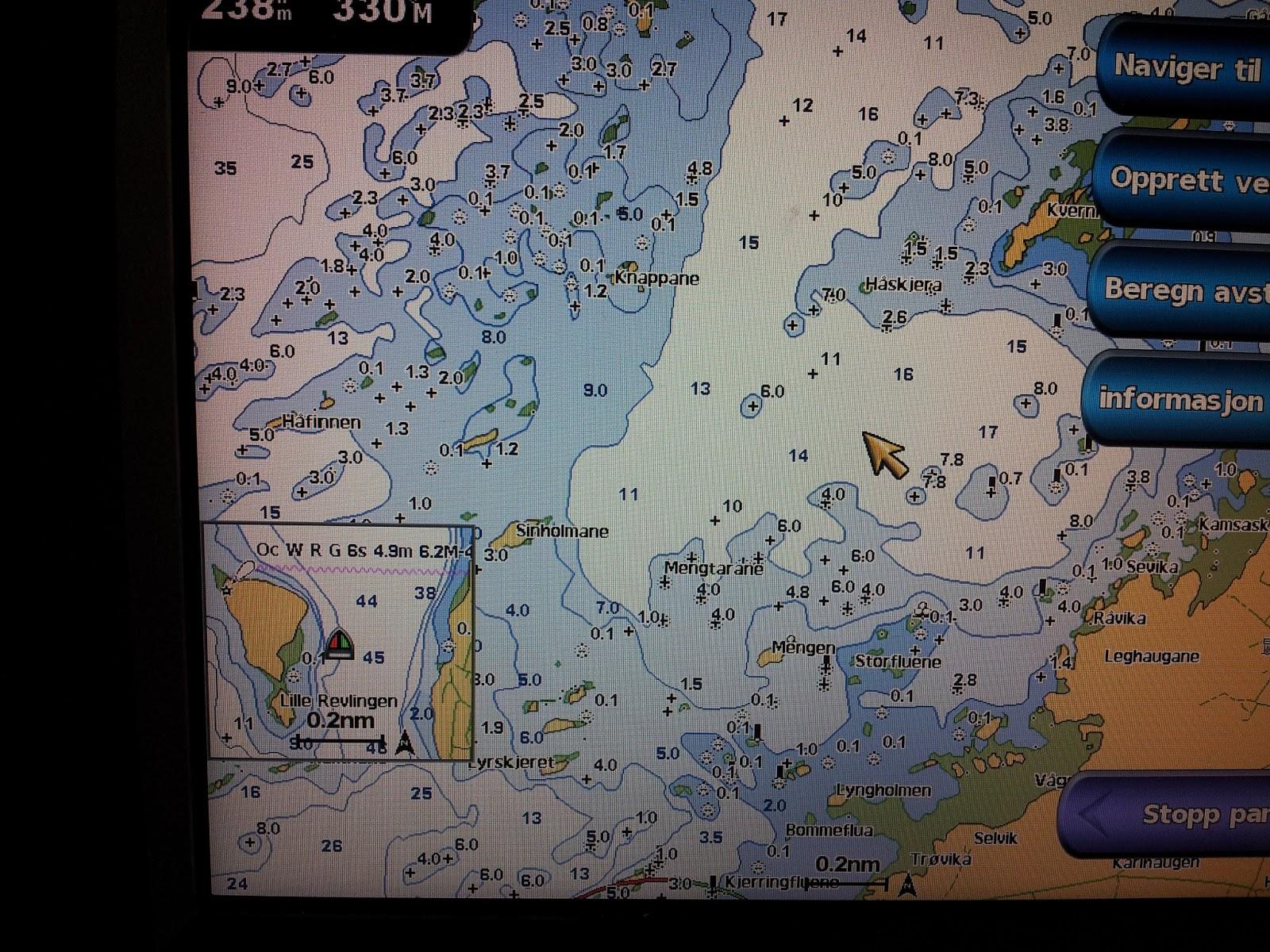 c map kart Terje`s blogg: Sjøkart, C map vs Navionics vs Bluechart c map kart