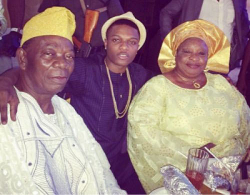 Wizkid: My daddy used to fight me for practicing music