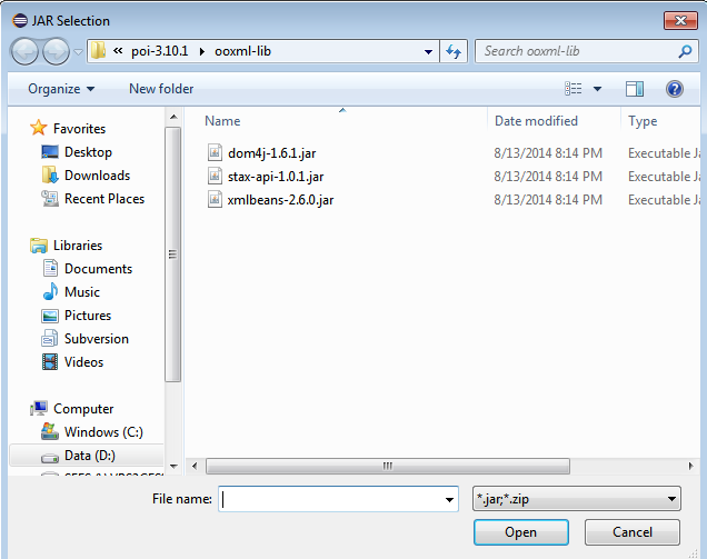 Write To Excel file using Java - Project Debug