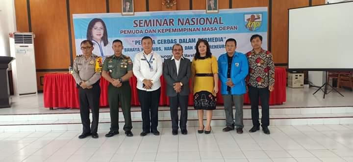 Dpd Knpi Kota Gunungsitoli Gelar Seminar Nasional Pemuda Dan Kepemimpinan Masa Depan Terobos