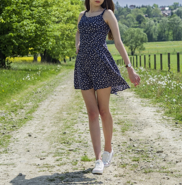 długie nogi