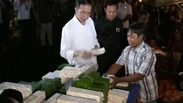 Borong Tempe, Kata Jokowi: Jangan Ada yang Teriak Harga Mahal di Pasar