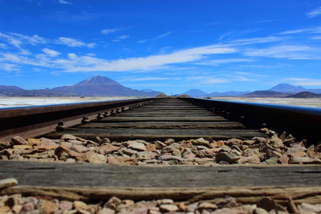 Las vías de tren que unen Bolivia y Chile