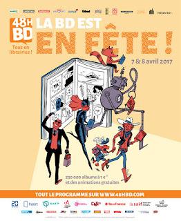 48h BD 2017 manga comics bande-dessinée dédicace exposition performance fête manifestation france belgique