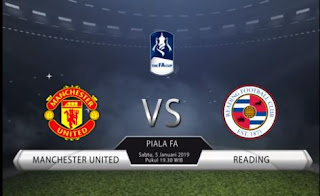 Susunan Pemain Manchester United vs Reading