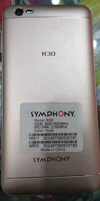 symphony r30 flash file without password